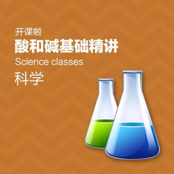 开课啦-酸和碱基础精讲(科学)