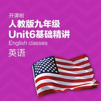 开课啦-人教版九年级Unit6基础精讲