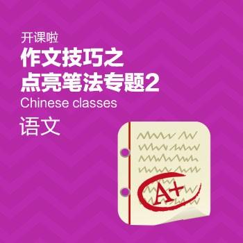开课啦-作文技巧之点亮笔法专题2