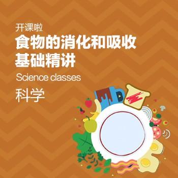 开课啦-食物的消化和吸收基础精讲