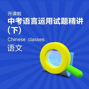 开课啦-中考语言运用试题精讲 下